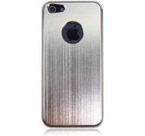 Metal - Silver - iPhone 5 skal