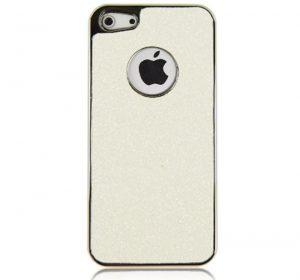 Bling - Vit - iPhone 5 skal