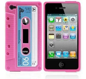 Retro Cassette - Rosa - iPhone 5 skal