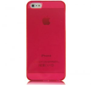 Glossy - Rosa - iPhone 5 skal