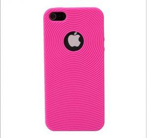 Silicone - Rosa - iPhone 5 skal