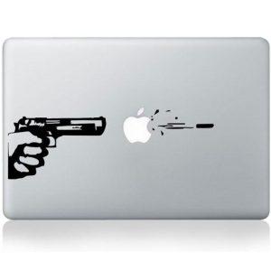 Sticker - Gun