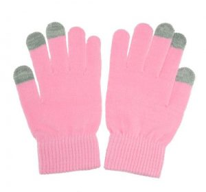 Touch Gloves - Rosa