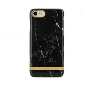 Luxury Marble - iPhone 7/8 skal - Black