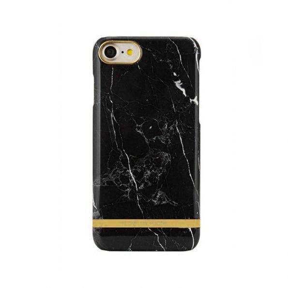 Luxury Marble - iPhone 7/8 skal - Black