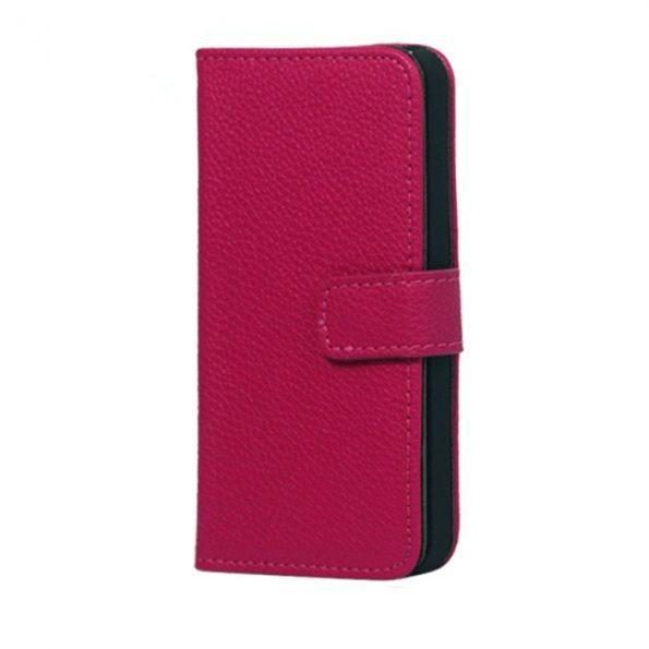 Leather Wallet - Pink - iPhone 7/8 Plus