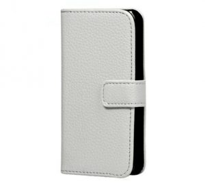 Leather Wallet - White - iPhone 7/8 Plus