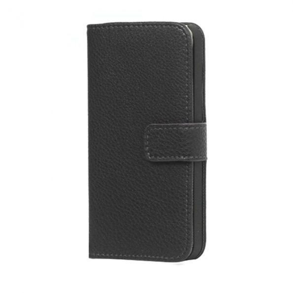 Leather Wallet - Black - iPhone 7/8 Plus