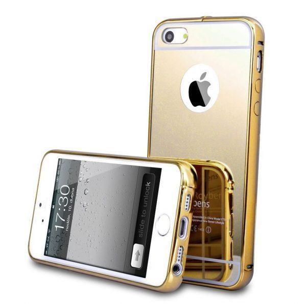 Mirror - Gold - iPhone 7/8 Plus skal