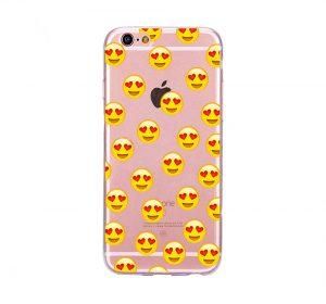 Emoji - Heart Eyes - iPhone 6 skal