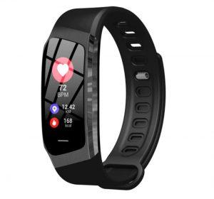HeartFit Aktivitetsarmband för IOS/Android - Svart