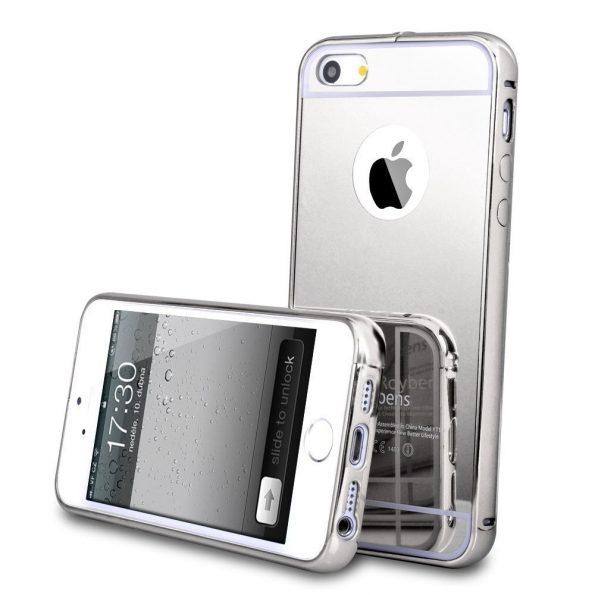 Mirror - Silver - iPhone 7/8 Plus skal