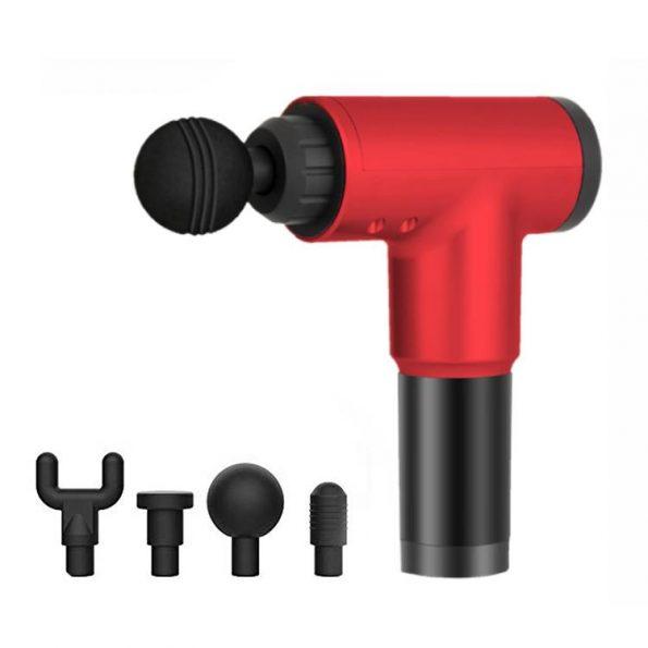 Massage Gun Fitness - Massagepistol - Röd