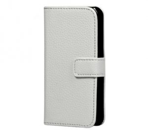 Leather Wallet - White - iPhone 7/8