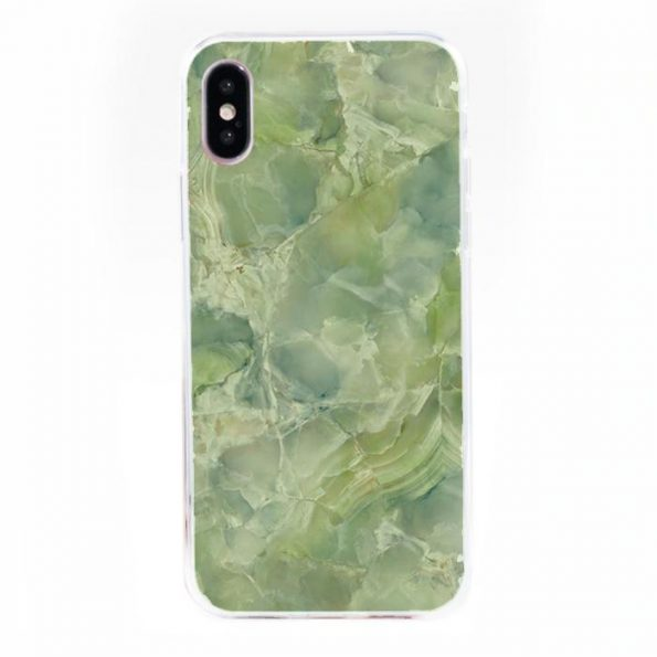 Green Stone - iPhone X/Xs skal