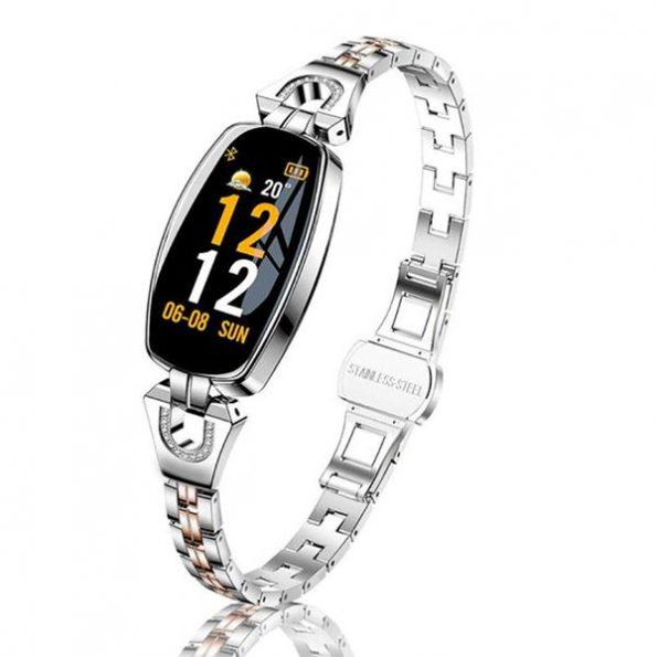 Luxury Smartklocka med Bluetooth - Silver