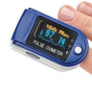 Puls- och syremätare för finger - MS50