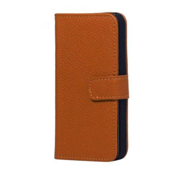 Leather Wallet - Brown - iPhone 7/8 Plus