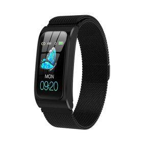 E70 Smartklocka med Bluetooth - Svart