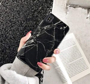 Blackstone Marble – iPhone XR Skal