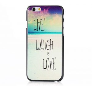 DO Live Laugh Love - iPhone 6 skal