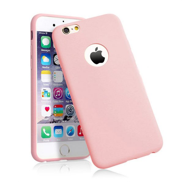 Silicone - iPhone X/Xs skal - Pink