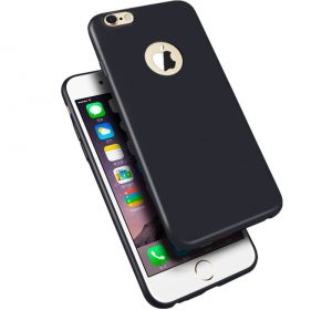 Silicone - iPhone X/XS skal - Black