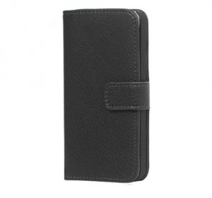 Leather Wallet - Black - iPhone 7/8