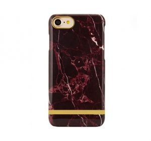 Luxury Marble - iPhone 7/8 skal - Red