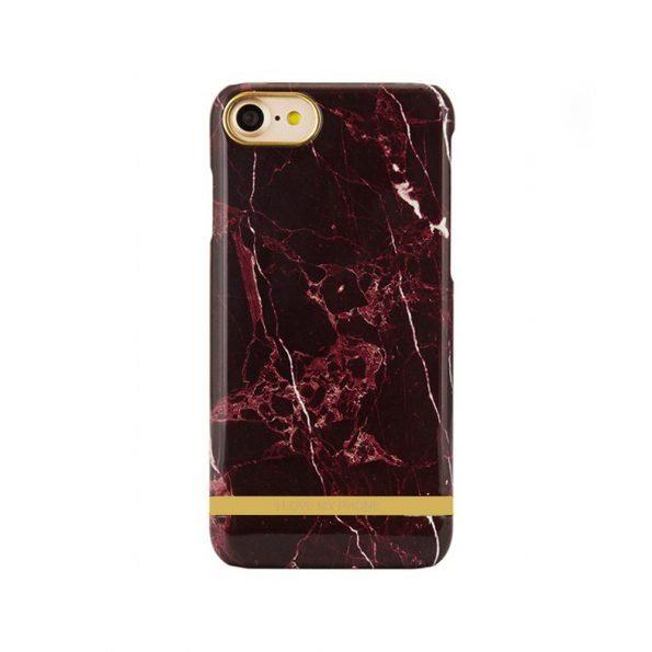 Luxury Marble - iPhone 7/8 skal - Red