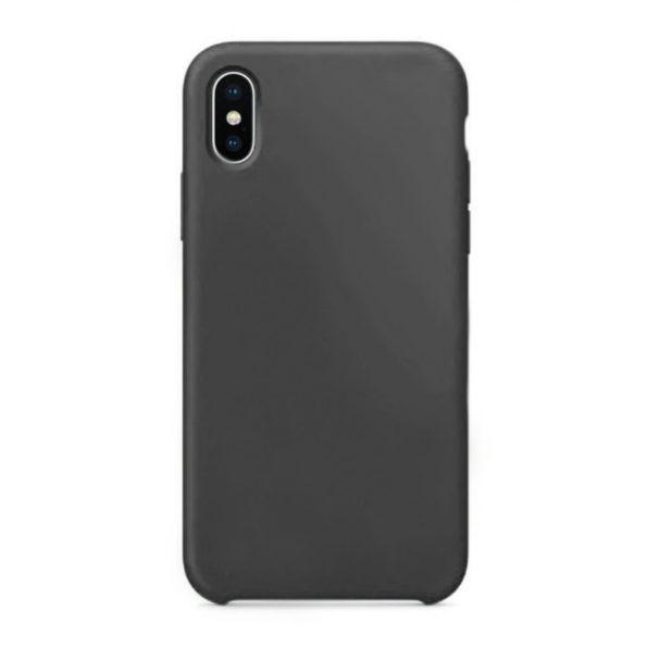 Silicone – iPhone X / XS skal – Svart