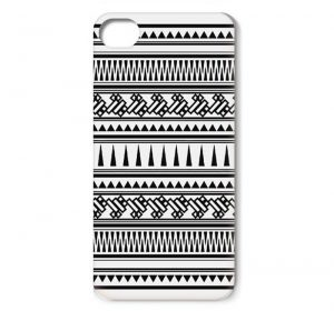 DO Aztec Black & White - iPhone 6 Plus skal