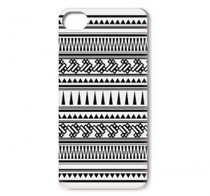DO Aztec Black & White - iPhone 6 skal