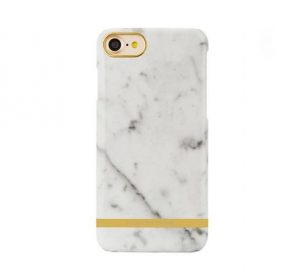Luxury Marble - iPhone 7/8 skal - White