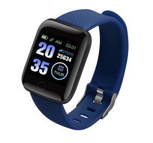 Smartwatch med Bluetooth - Blå