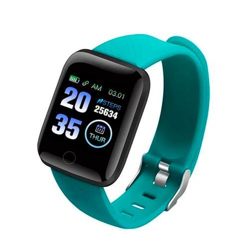 Smartwatch med Bluetooth - Turkos