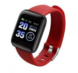 Smartwatch med Bluetooth - Röd
