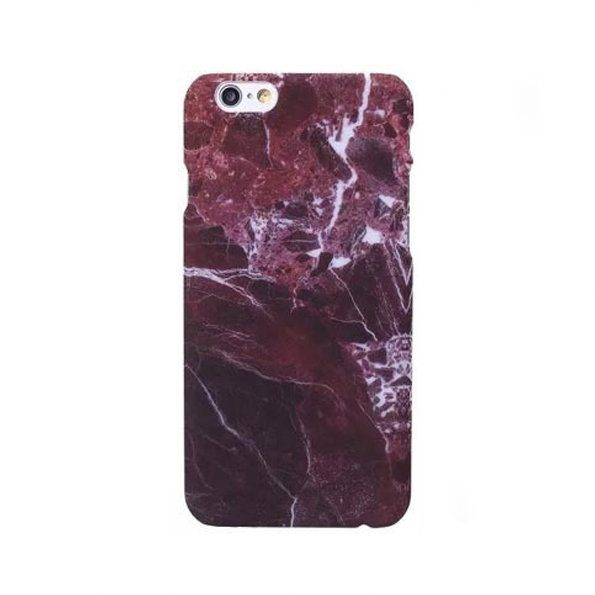 Matte Red Marble - iPhone 7/8