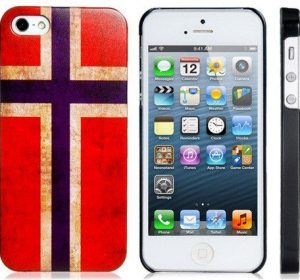 Vintage Norway - iPhone 5C skal