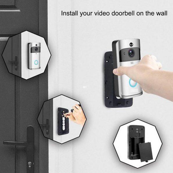 Dörrklocka med kamera och Wifi