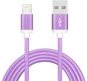 Braided Deluxe - Lila - Lightning kabel