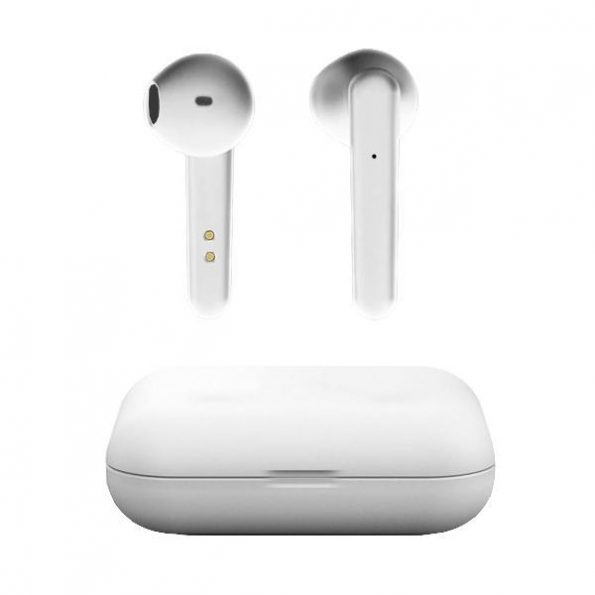 T500 True Wireless Premium Hörlurar - Vit