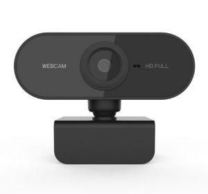 Webkamera 1080 HD - Svart
