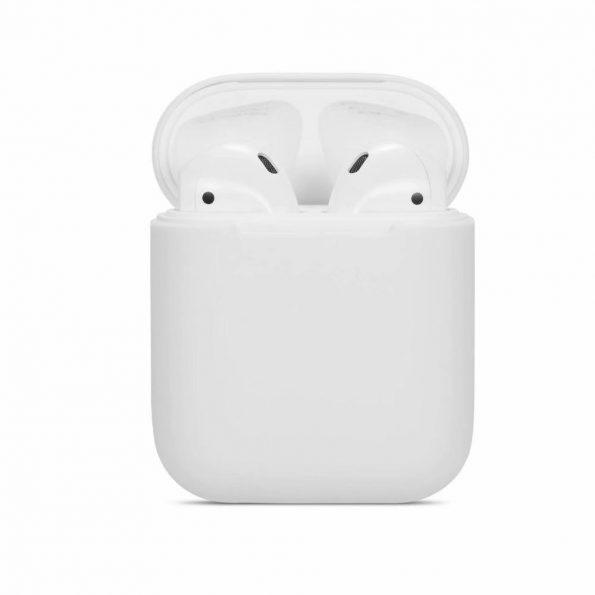 AirPods Silicone case - White