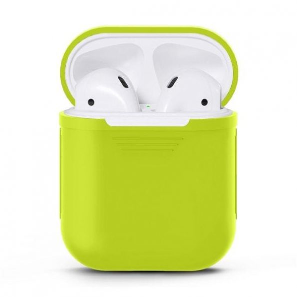 AirPods Silicone case - Neon Green