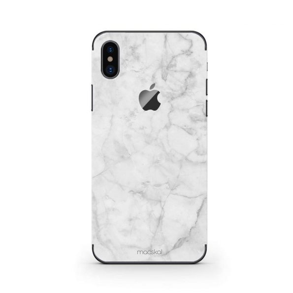 White Marble - iPhone X
