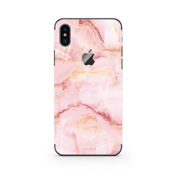 Pink Marble - iPhone X