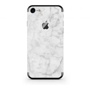 White Marble - iPhone 8