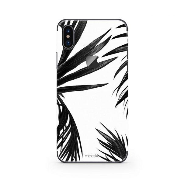 Black Leaves - iPhone Xs Max