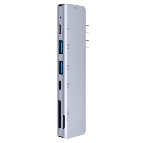 USB-C Hub 7 in 1 för Macbook Pro